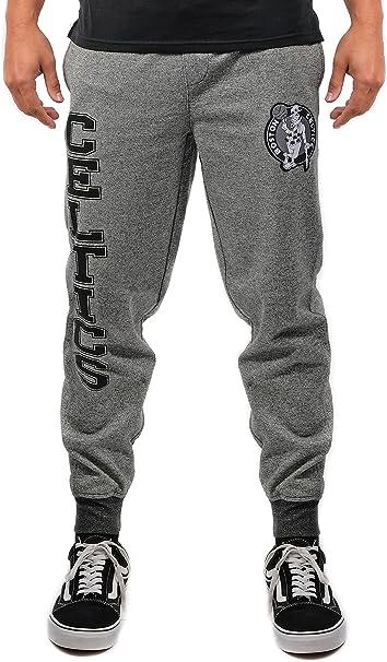 Mens Jogger Pants Active Basic Fleece Sweatpants
