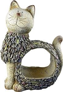 Red Carpet Studios 21053 3D Animal Planter, Cat