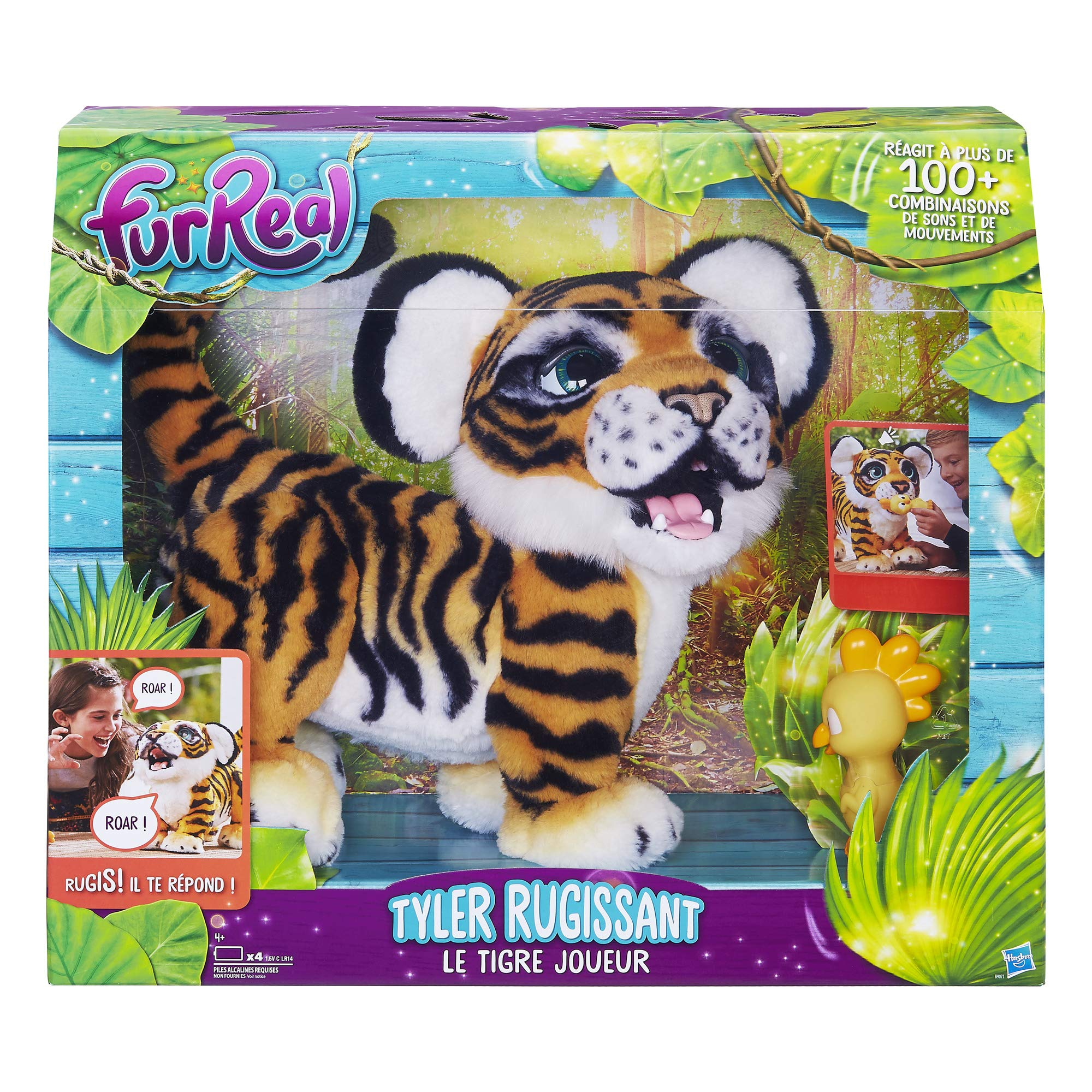 Furreal Friends - Tyler Le Tigre Joueur - Peluche Interactive product image