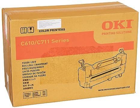 Amazon.com: OKI Kit de fusor, 120 V, 60000 de papel ...