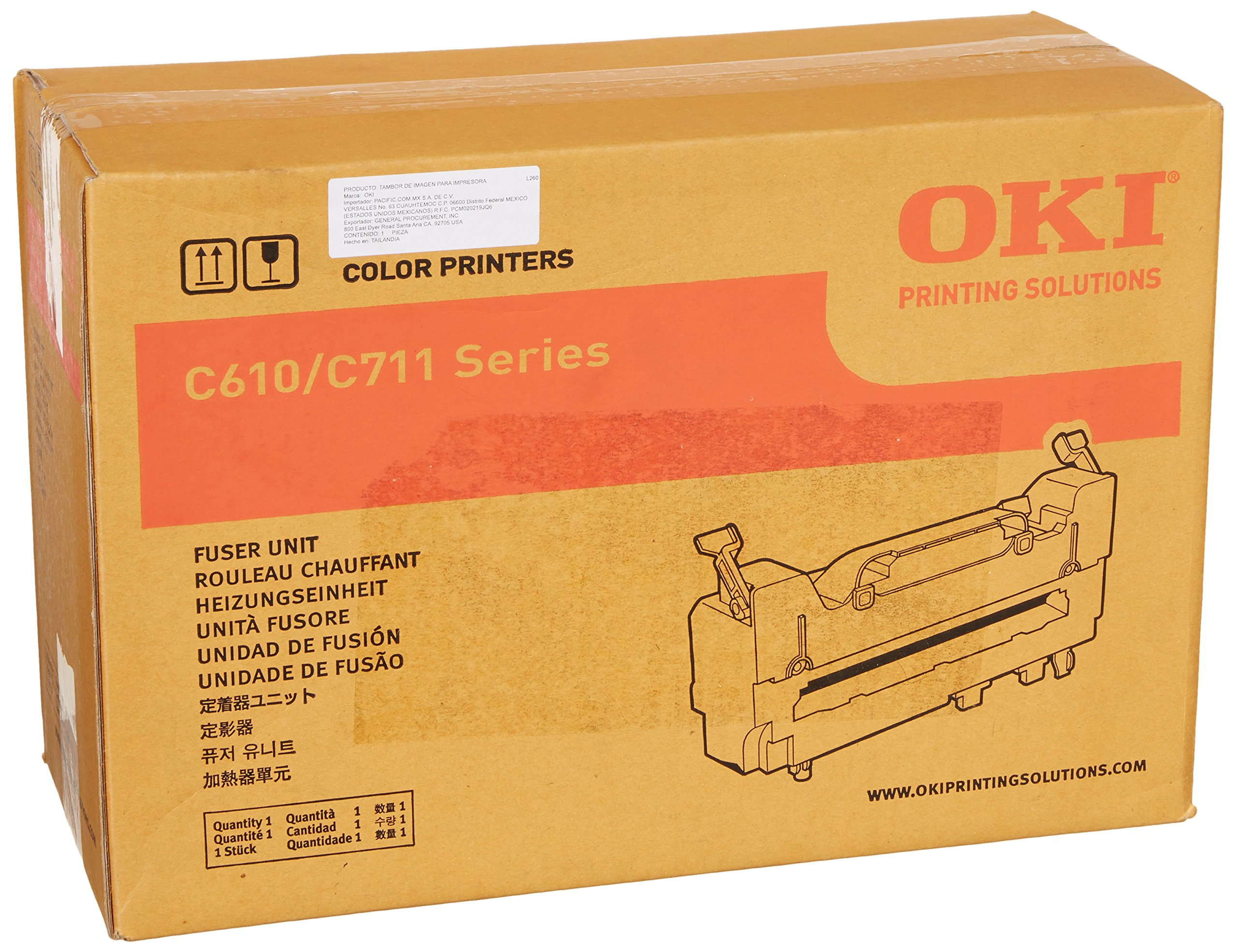 Oki Fuser Kit, 120V, 60000 Yield (44289101) by OKI