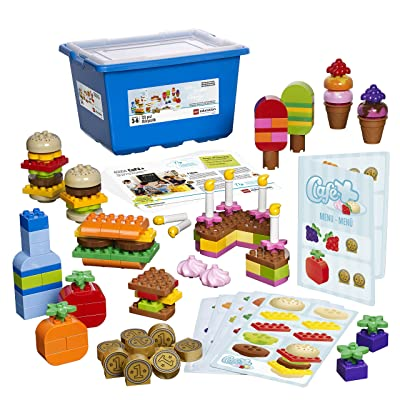 Café Plus Set for Patterning and Early Math by LEGO Education DUPLO: Toys & Games