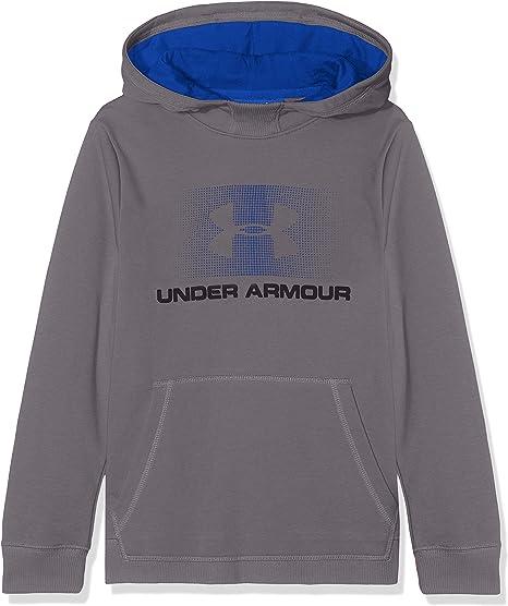 Under Armour EU Cotton Fleece Hoody Sweat /à Capuche Gar/çon