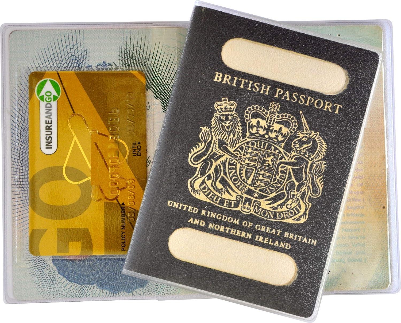 Reid Irish Coat of Arms Leather Passport Wallet