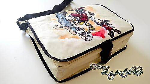 Bandolera personalizada pintada a mano Kingdom Hearts ...