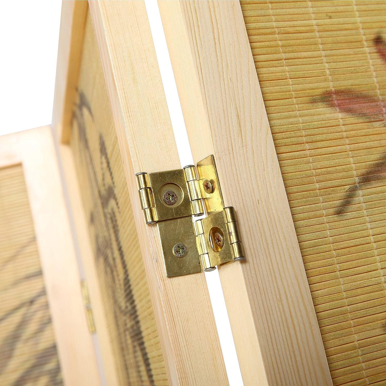 Amazon.com: Decorative Chinese Calligraphy Design Wood & Bamboo ...