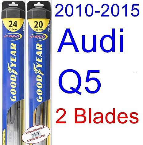 amazon com 2010 2015 audi q5 replacement wiper blade set kit set rh amazon com 93 Audi 100 CS Audi 100 CS Quattro