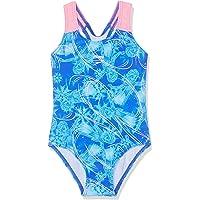 Speedo Girls' Disney Frozen Allover Swimsuit