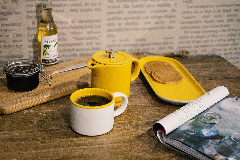La Cafetière Barcelona - Juego de tazas de café y café (cerámica ...