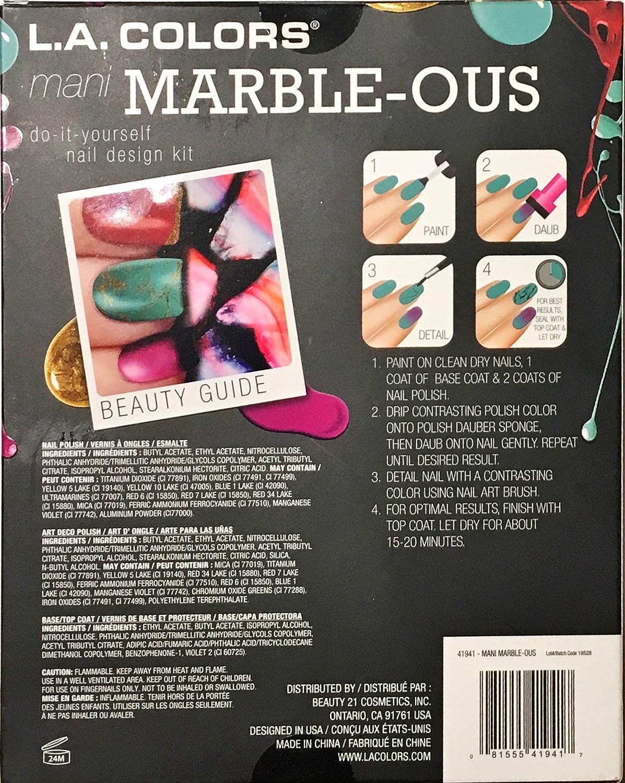 Amazon la colors nail art design kit baubles and bows beauty solutioingenieria Image collections