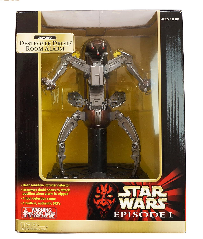 Star Wars Episode 1 - 88-303 - Animated Destroyer Droid Room Alarm ...