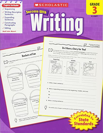 Scholastic Success With Writing Grade 3 Scholastic 0078073200771
