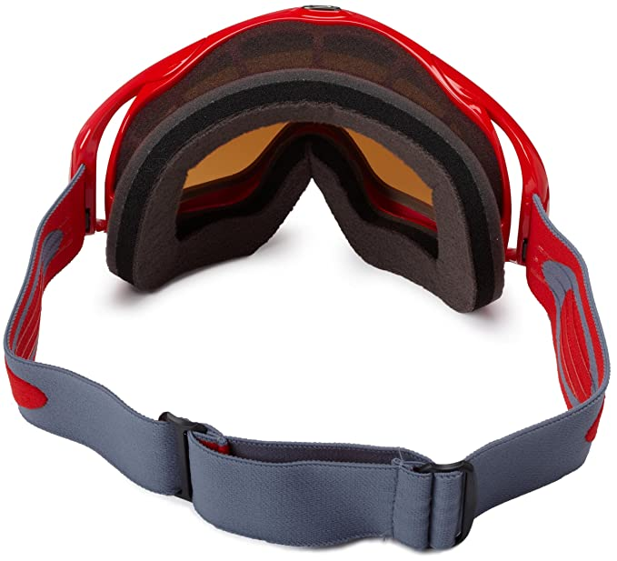 e243988092 Amazon.com   Oakley Crowbar Adult Snowmobile Goggles - Jet Black Black  Iridium One Size   Ski Goggles   Sports   Outdoors