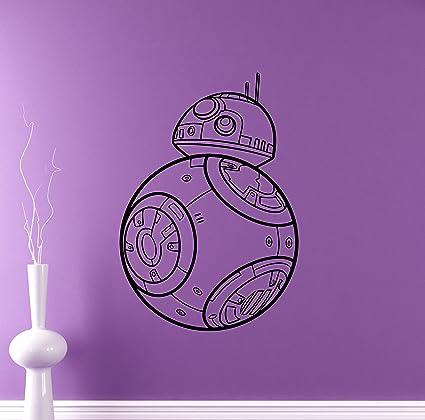 Robot Droid Wall Decal R2 D2 Star Wars Universe Vinyl Sticker Home