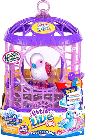 Little Live Pets 630996283585 Llp Spielzeug Bessie Bestie S6 Vogel Kafig 1x Bedienungsanleitung Amazon De Spielzeug