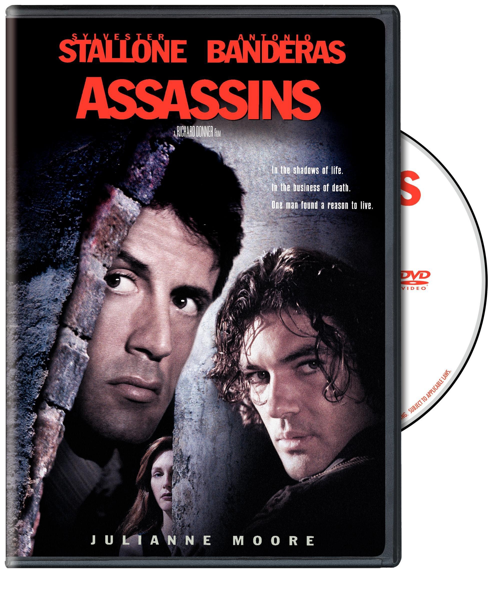 DVD : Assassins (Widescreen, Repackaged, Amaray Case)