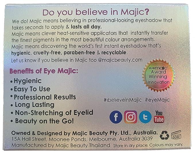 Eye Majic - Sombra de ojos instantánea - Maquillaje profesional en ...