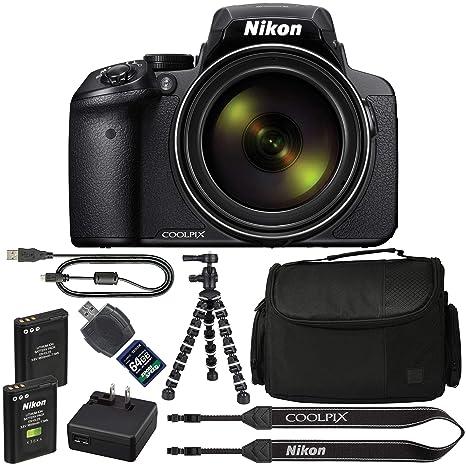 Amazon.com: Cámara digital Nikon COOLPIX P900: con zoom ...