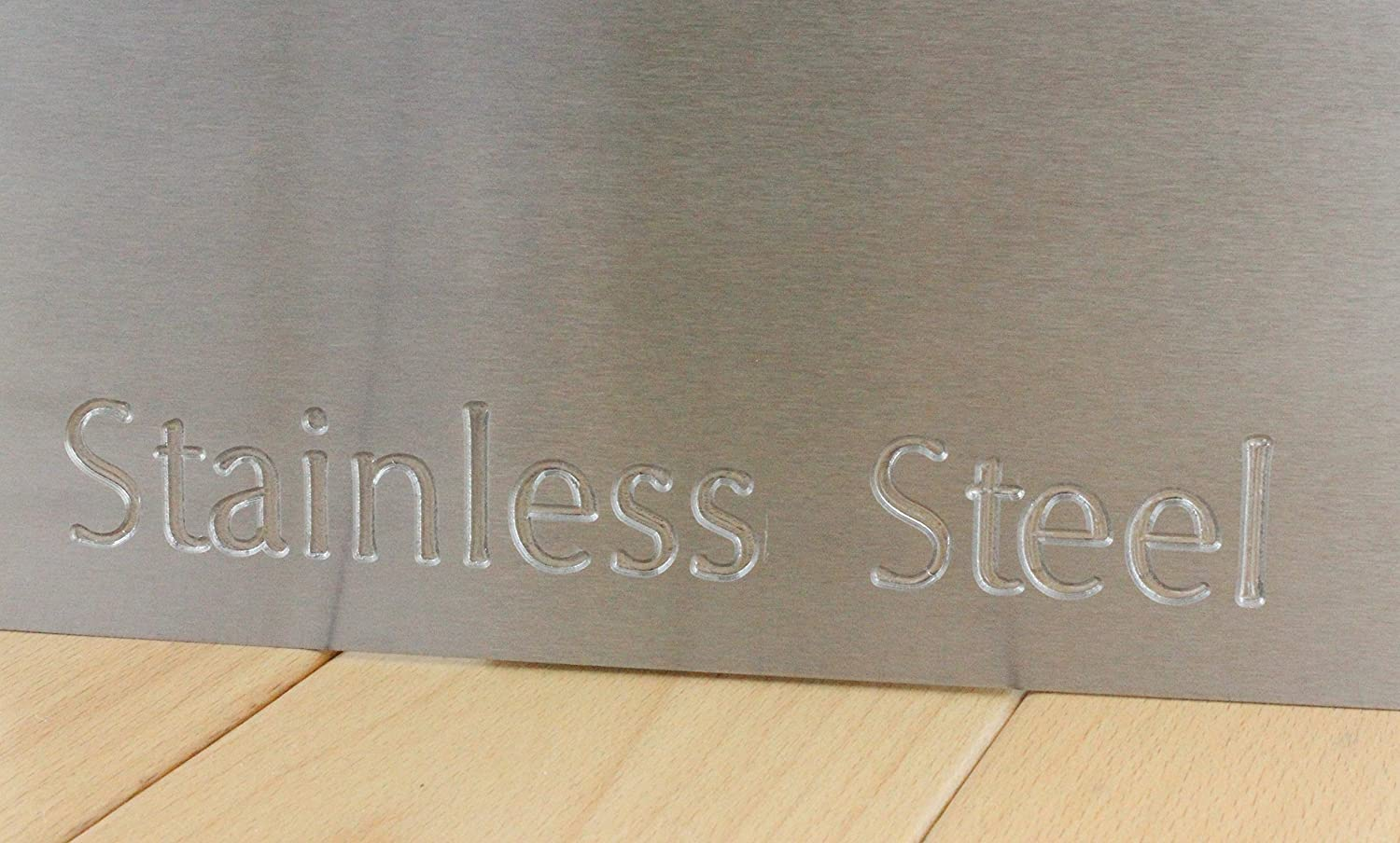 0.9mm Thick Brushed Stainless Steel Sheet Plate - 20 sizes to choose from (50mm x 50mm) SGS