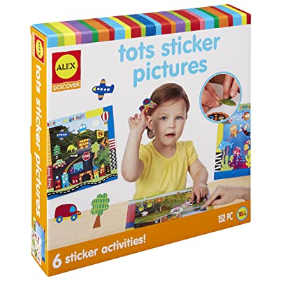 ALEX Jr. Tots Sticker Pictures: Toys & Games