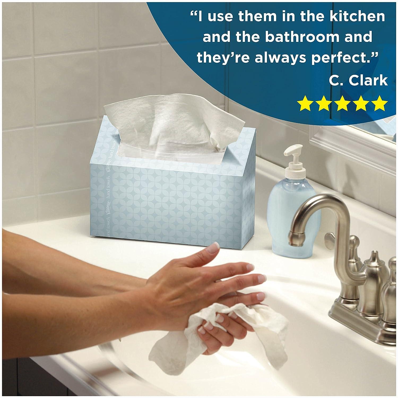 Amazon.com: Kleenex Hand Towels, 60 Disposable Towels per Box, 6 ...