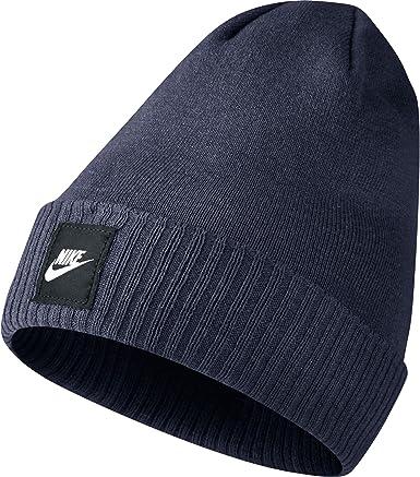 Nike Futura Men's Beanie Warm Knit Winter Hat Blue 803732-451