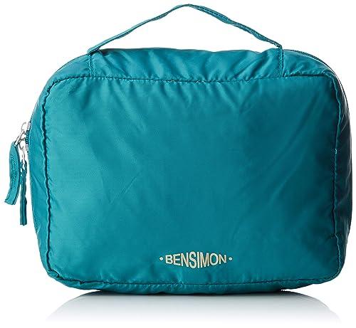 Bensimon - Purse Traveller, Carteras de mano Mujer, Verde (Jade), 10x18x25 cm (W x H L): Amazon.es: Zapatos y complementos