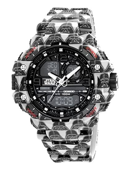 AM: PM Star Wars Darth Vader Digital deportes reloj de Hombre de 55 mm sp165-g428 analógica Display: AM:PM: Amazon.es: Relojes