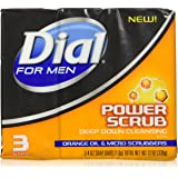 DIAL SOAP BATH MEN POWER SCRUB 3 BARS by Dial