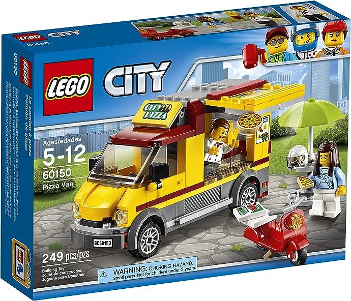 LEGO 乐高 CITY 城市系列 60150 披萨贩卖车 积木玩具 5.5折$10.99史低 海淘转运到手约¥101