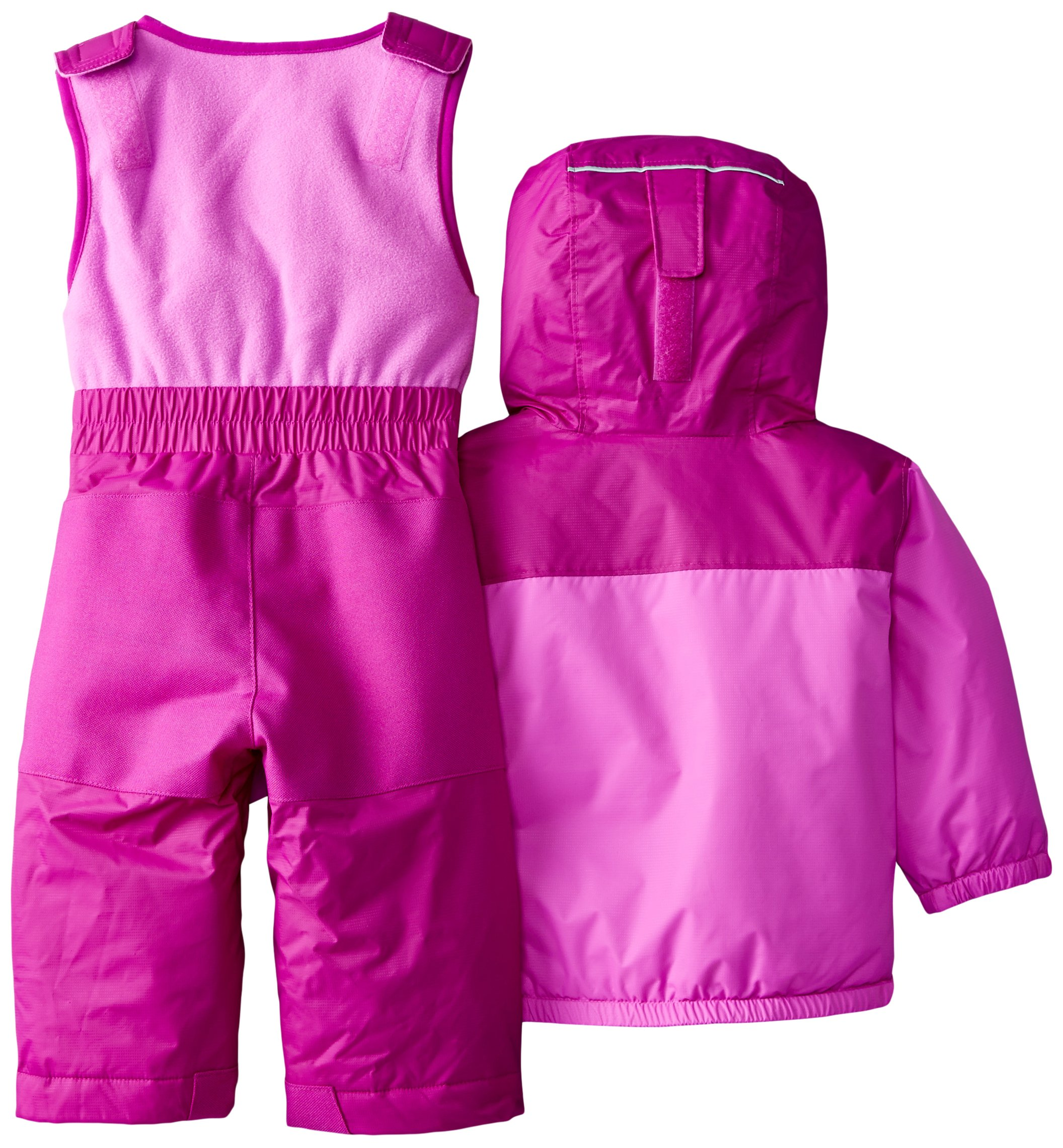 Columbia Baby Girls' Double Flake Reversible Set, Bright Plum/Foxglove, 6-12 Months by Columbia (Image #2)