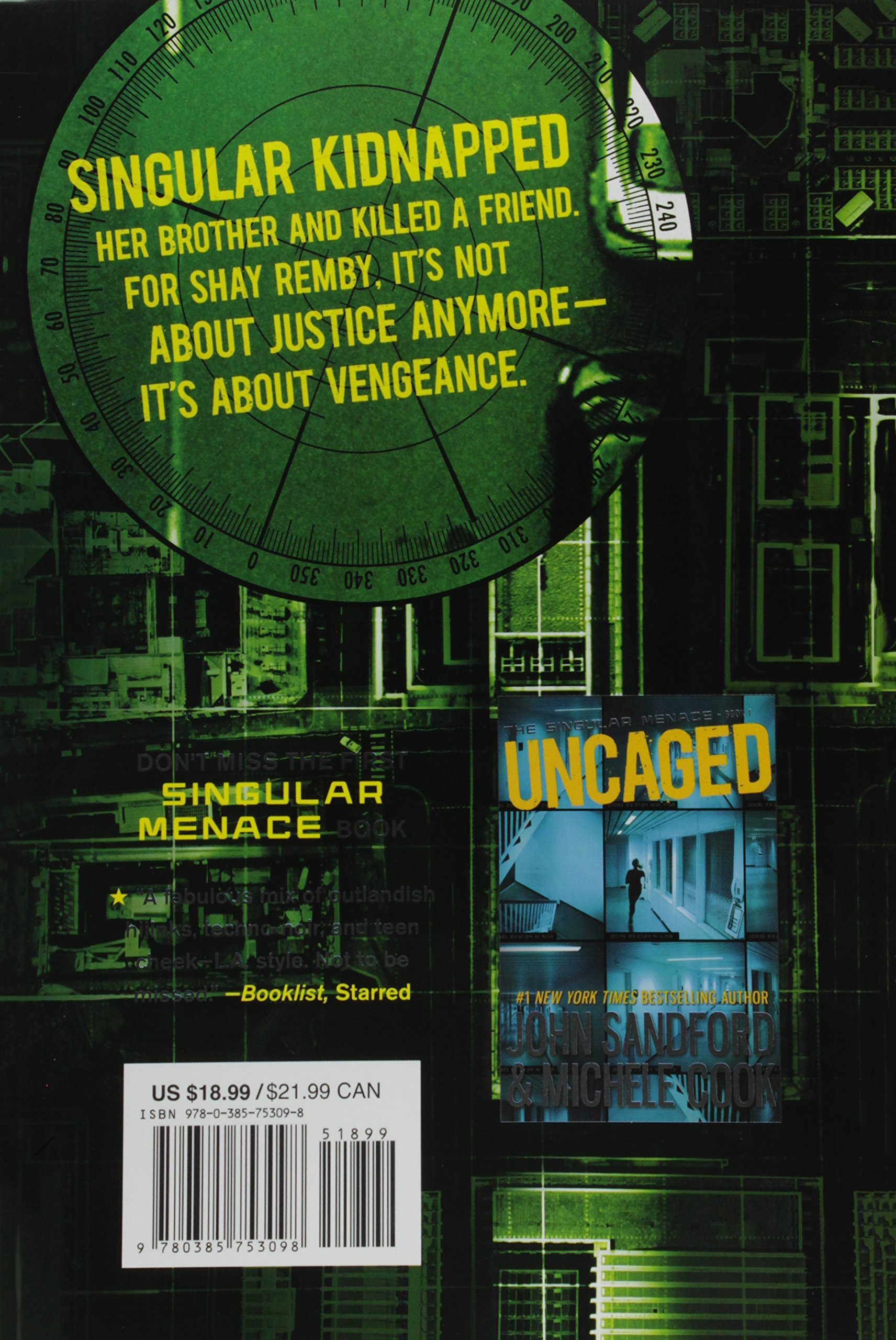 Amazon: Outrage (the Singular Menace, 2) (2015385753098): John Sandford,  Michele Cook: Books