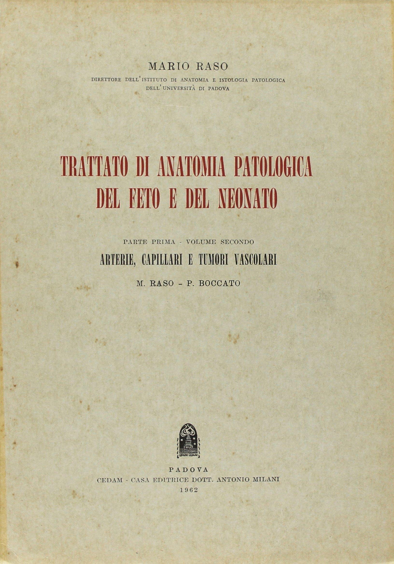 Trattato di anatomia patologica del feto e del neonato: 2: Amazon.es ...