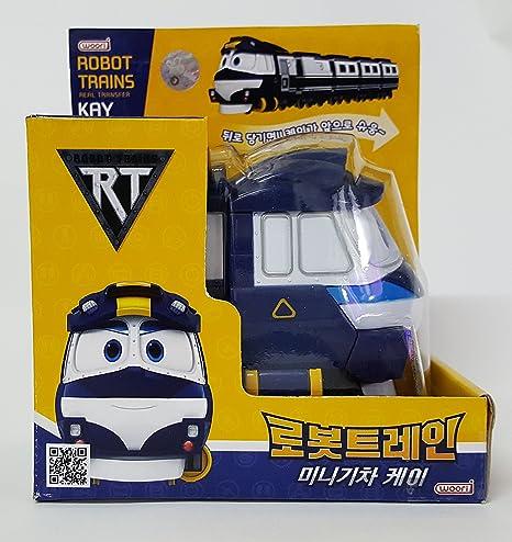 865d02a514 Amazon.com   Robot Train  Korean TV Animation Transformer Mini Robot ...