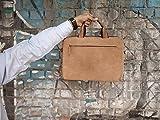 13-13.3 inch Vintage Leather Sleek Handmade Sleeve