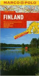 Finland Road Map Amazoncouk Opracowanie zbiorowe 9783707905793