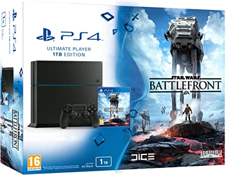 PlayStation 4 - Consola 1 TB + Star Wars: Battlefront: Amazon.es: Videojuegos
