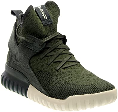 Adidas TUBULAR X PK mens fashion-sneakers S74932_10 - Shadow Green/Cream White