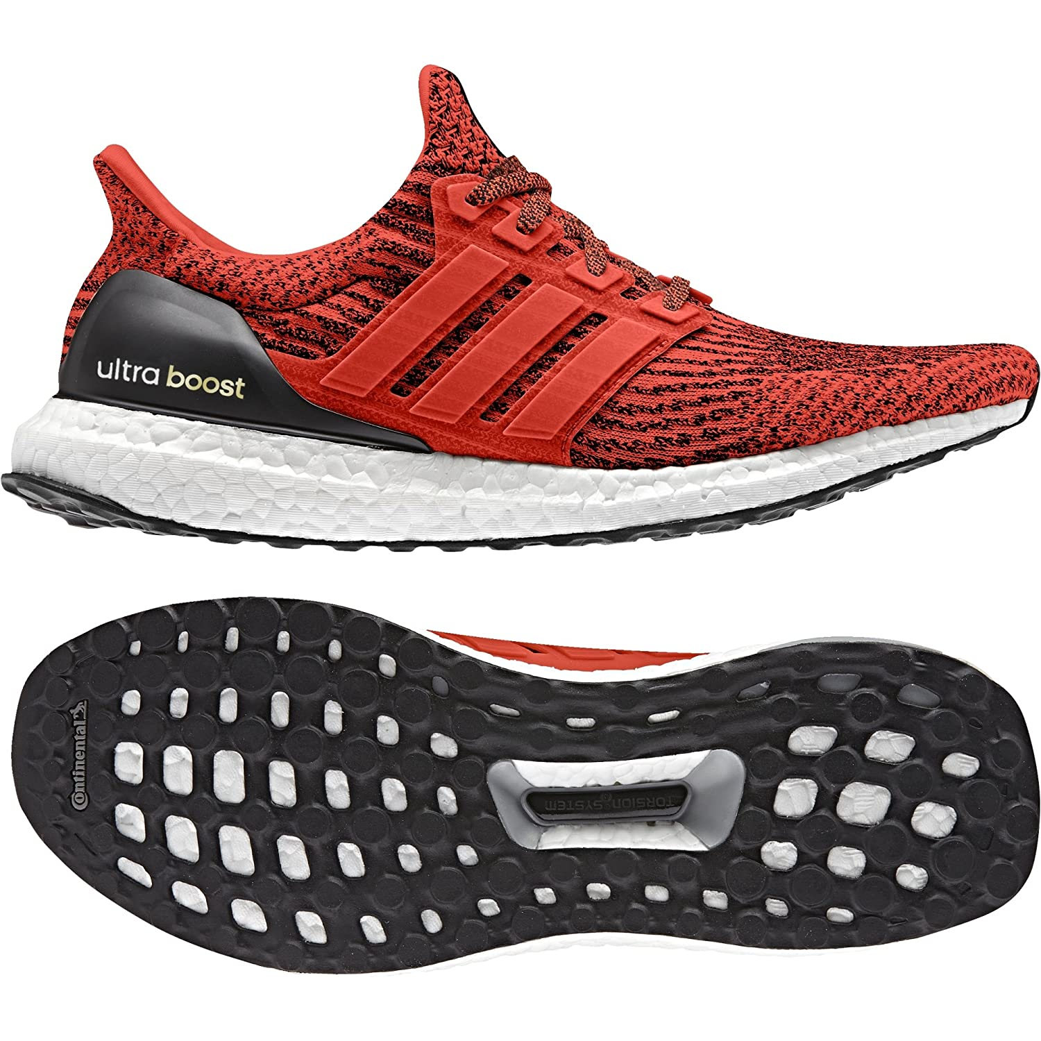 Red, white, black adidas Performance Men's Ultra Boost M Running shoes