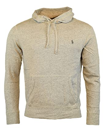 dd58d2324 Polo Ralph Lauren Men s Terry Hooded Pullover Sweatshirt at Amazon Men s  Clothing store