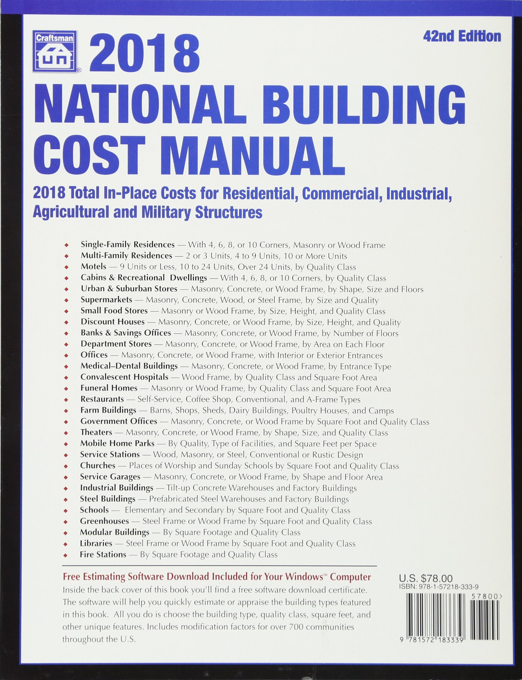 Buy National Building Cost Manual 2018 Book Online at Low