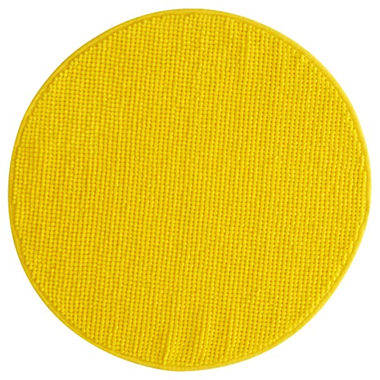 Ikea Bain Aren Tapis De Bain Rond En Microfibre Luxueux Doux 5