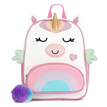 9768b796533 Amazon.com  Unicorn backpack for toddlers