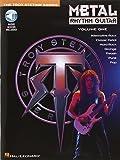 Metal Rhythm Guitar Volume 1 Book/Cd -Album-: Noten, CD für Gitarre (Troy Stetina)