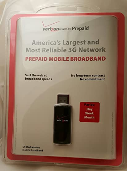 Review Verizon USB760 3G Prepaid