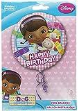 """Ballon aluminium """"Joyeux anniversaire"""" Docteur La Peluche"""