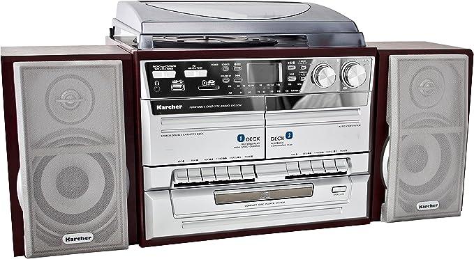 Kärcher KA 320 - Minicadena con reproductor de CD, doble pletina ...