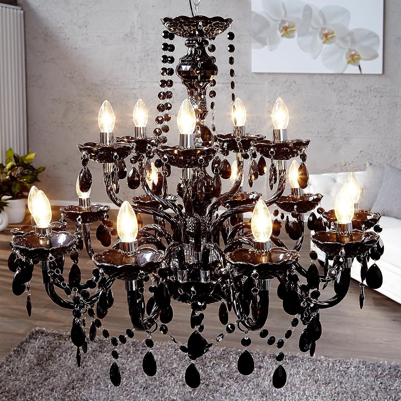kronleuchter acryl schwarz. Black Bedroom Furniture Sets. Home Design Ideas