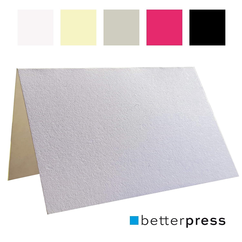 Betterpress - Lote de 100 Tarjetas de identificación para Sentarse ...