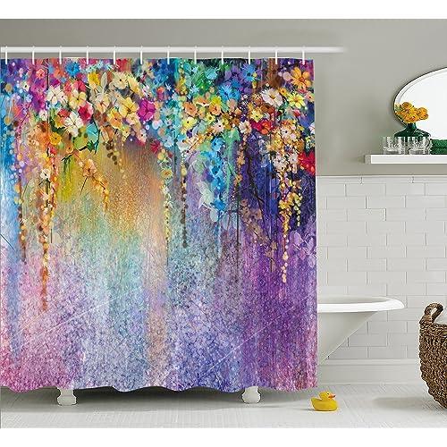 unique shower curtain amazon com
